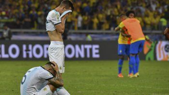 Argentina perdió ante Brasil y se quedó sin final de Copa América