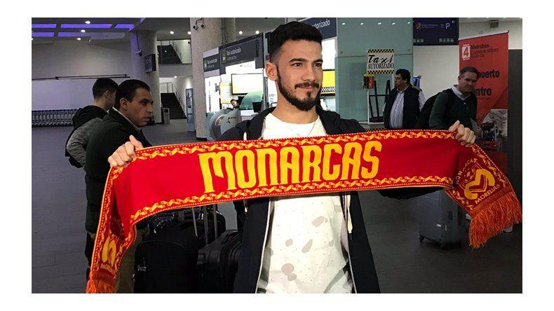 Lucas Villafáñez es nuevo jugador  de Monarcas de Morelia de México