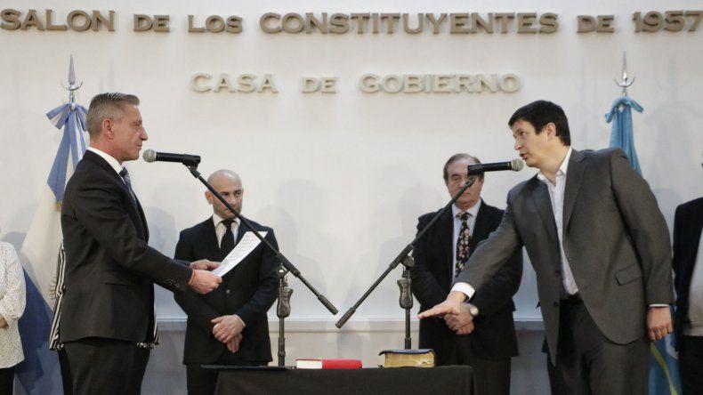 Aguirre y Meiszner se sumaron al gabinete provincial
