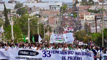 La provincia de Chubut fue sede del último Encuentro Nacional de Mujeres, celebrado en 2018.