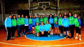 Las chicas de +30 y +50 salen a representar a Chubut en el Argentino de Maxibásquet.