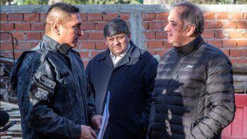 El municipio entregó un subsidio a la policía para finalizar el edificio de la División Canes.
