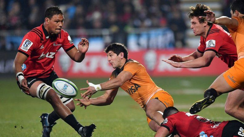 Jaguares perdió ante Crusaders en la final del Super Rugby