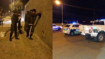 En operativo conjunto secuestran un auto en Kilómetro 8