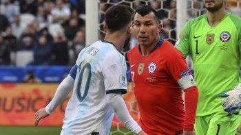 Qué dice el informe del árbitro sobre la expulsión de Messi