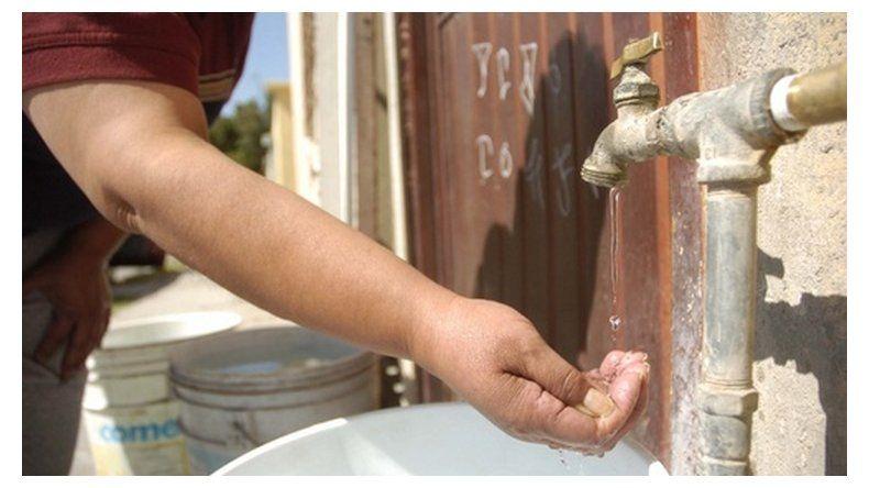 Rotura en Arenal-Ciudadela: tres barrios sin agua