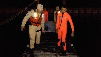 Un joven se salvó en el lago Nahuel Huapi