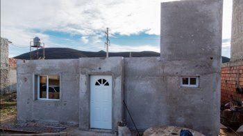 viviendas sociales: hay un avance del 80 por ciento