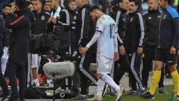 Messi podría recibir una sanción de dos años