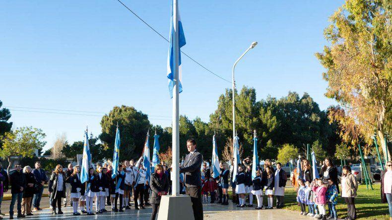 Rada Tilly evocó la celebración patria