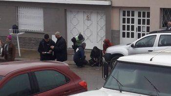 Accidente de transito en Viamonte y San Martin