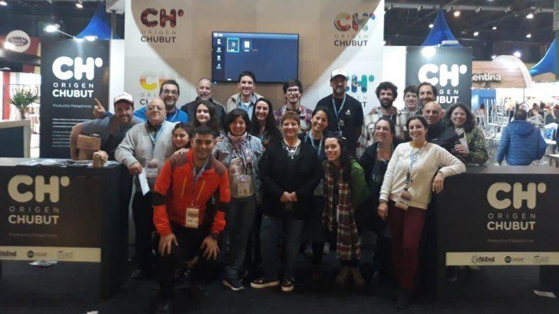 Chubut se destacó en la Feria  Caminos y Sabores en Buenos Aires