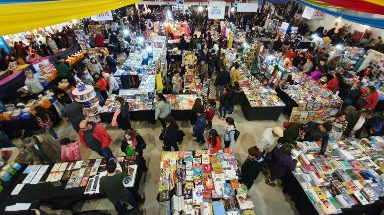 Durante trece días Comodoro Rivadavia vivió una fiesta con la Feria del Libro.