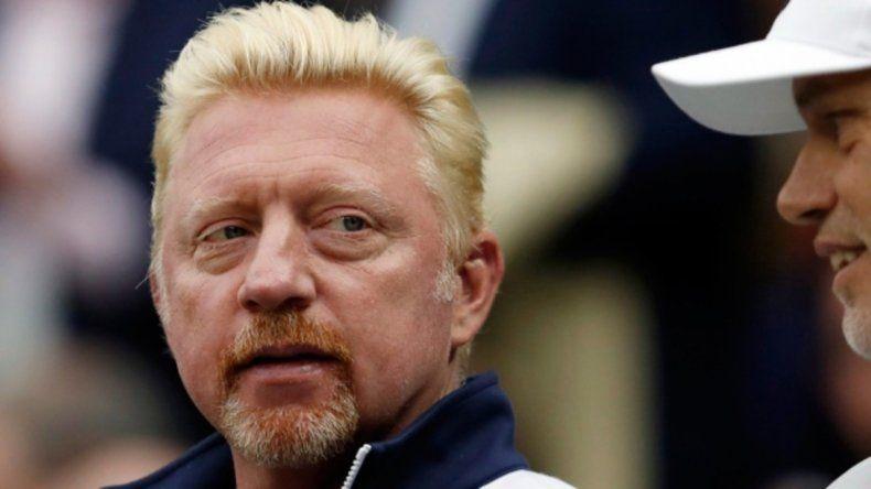 Boris Becker subasta trofeos y medallas para pagar deudas