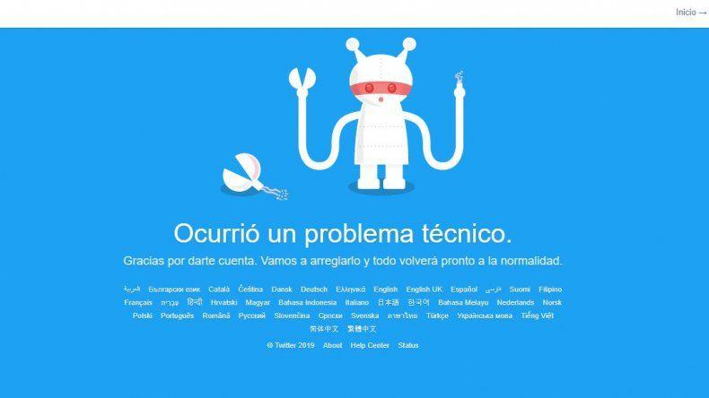 Cayó Twitter en distintas partes del mundo