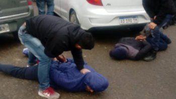 La detención de los sospechosos se produjo el miércoles en la zona céntrica de Comodoro Rivadavia.