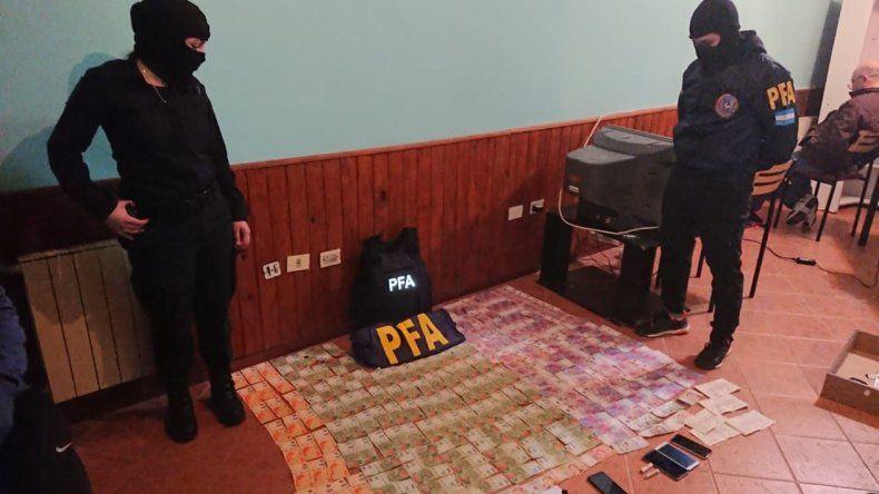 Detuvieron a seis personas y  secuestraron 5,7 kilos de droga