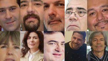 el tribunal electoral oficializo las diez listas de precandidatos a la intendencia