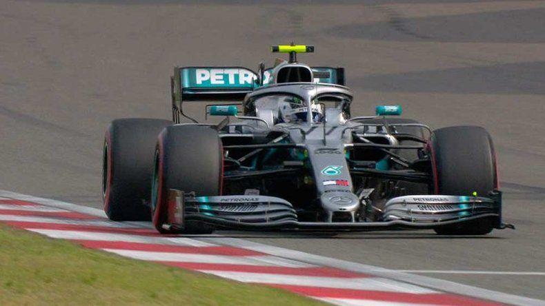 Valtteri Bottas largará desde la primera fila el Gran Premio de Silverstone.