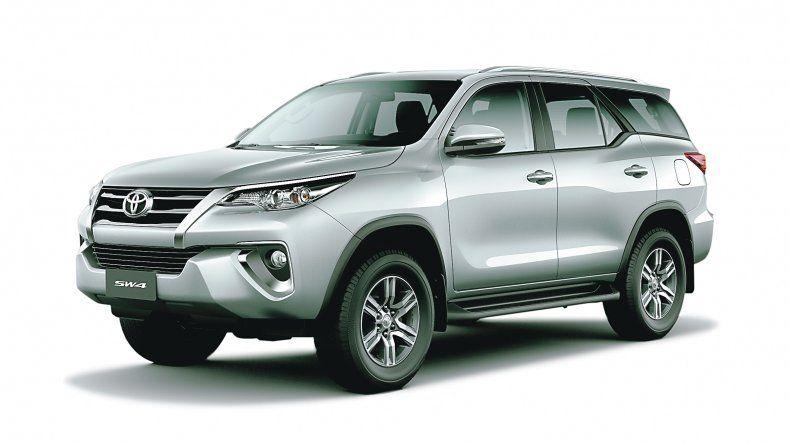 Toyota SW4 : Con mejoras en seguridad