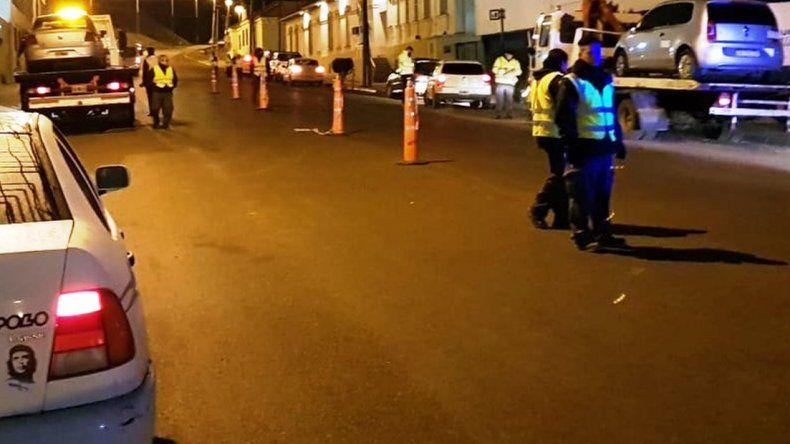 Once automovilistas manejaban  borrachos durante la madrugada