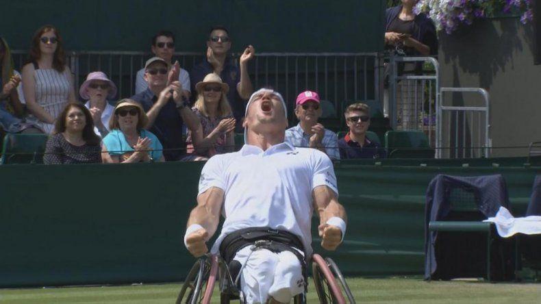 Gustavo Fernández conquistó Wimbledon por primera vez