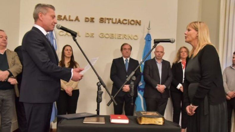 Arcioni oficializó dos nuevas incorporaciones en su Gabinete