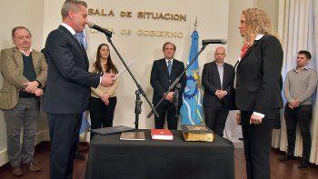 La abogada Carolina Rodríguez asumió como asesora general de Gobierno.
