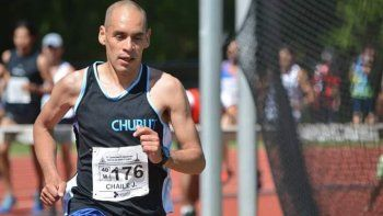 José Chaile, el comodorense que sueña con ser campeón argentino en el atletismo.