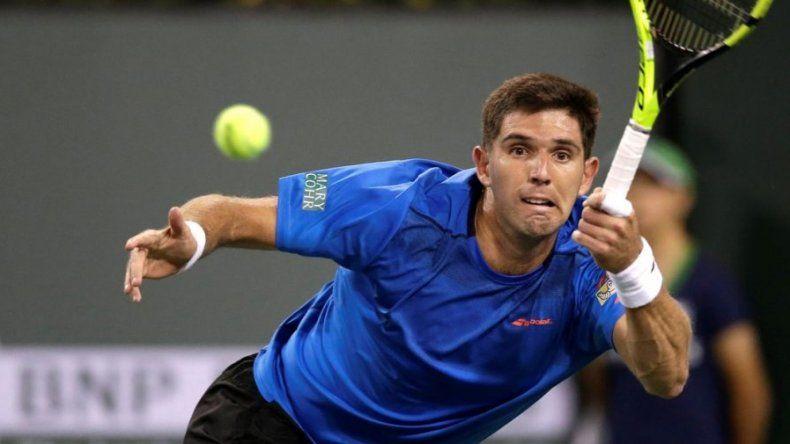 El azuleño Federico Delbonis se metió en los cuartos de final del ATP de Bastad.
