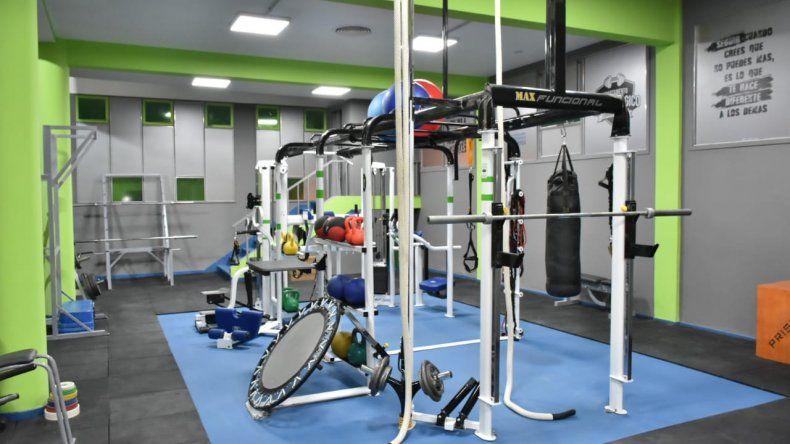 El último miércoles quedó reinaugurado el Departamento Metodológico que funciona en un sector del gimnasio municipal 1.