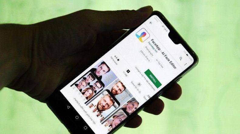 Una aplicación simula ser FaceApp para instalar un virus