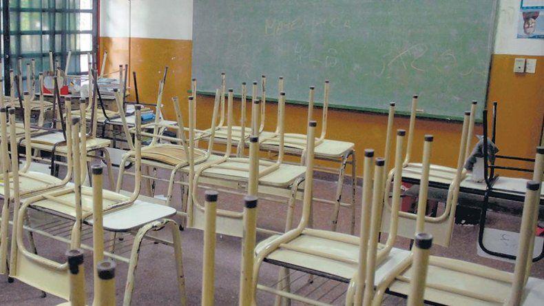 Para el lunes está prevista la reanudación del calendario escolar
