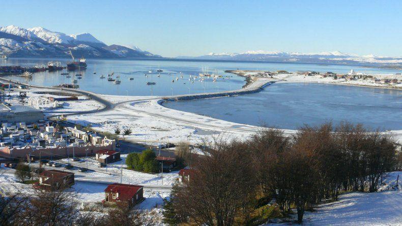 Ushuaia tiene a la nieve como principal atracción