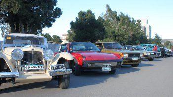Los autos clásicos volverán a presentarse en Rada Tilly el sábado de la próxima semana.