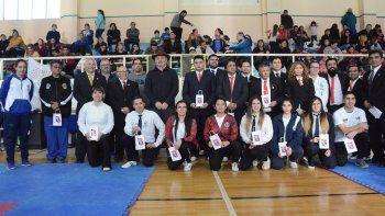 se realizo el 1er. torneo regional patagonico de tae kwon do fati