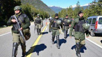 los antecedentes del escuadron de gendarmeria en bariloche