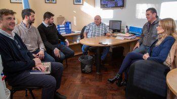 La reunión de ayer se realizó en el municipio. El próximo viernes habrá otra en la sede de Defensa Civil.