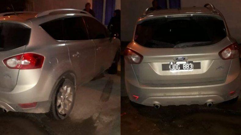 En Playa Unión recuperan un auto con pedido de secuestro