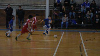 El fútbol de salón promocional disputó una nueva fecha en el gimnasio municipal 2.qs