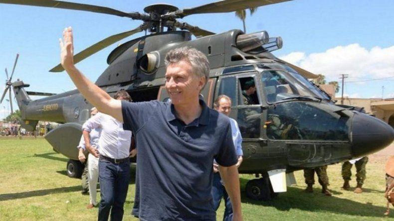 Denuncian a Macri por usar un helicóptero oficial para ir a cortarse el pelo