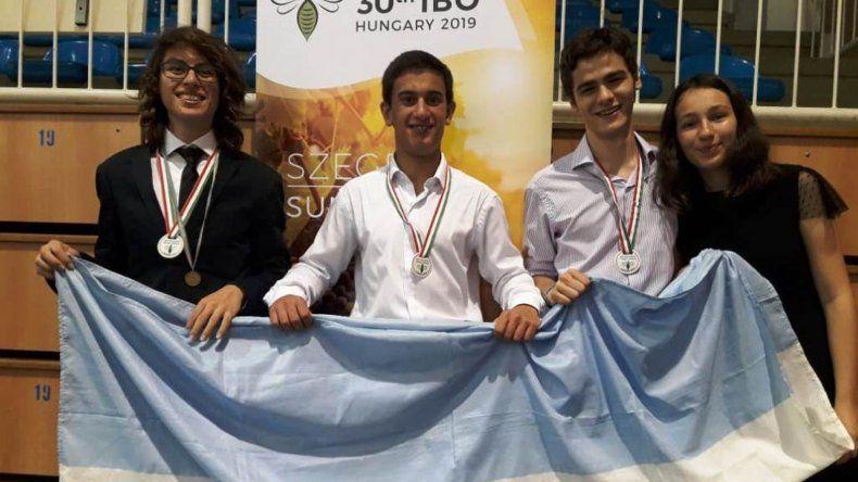 Chubutense obtuvo el bronce en las Olimpíadas Internacionales de Biología