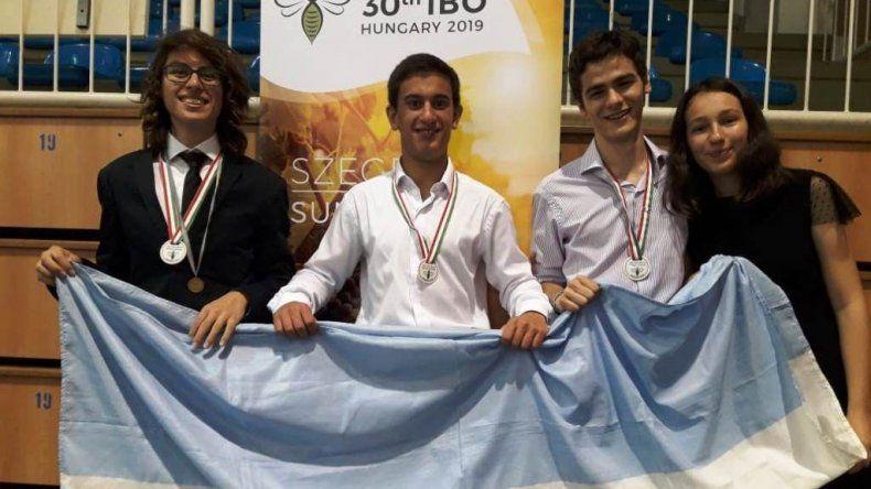 Un estudiante de Sarmiento obtuvo la medalla de  bronce en las Olimpíadas Internacionales de Biología