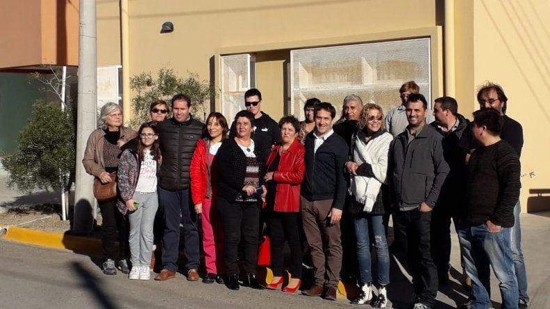 Inauguraron paneles solares en la vecinal de Caleta Córdova