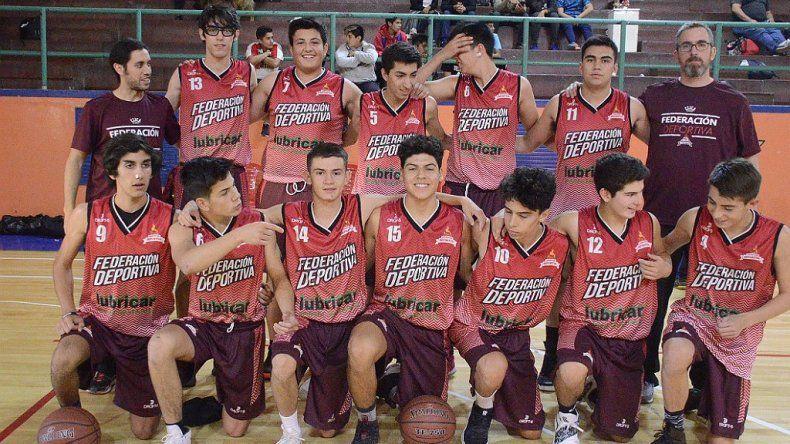 Federación Deportiva es semifinalista en U13 y también en U15.