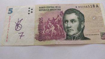 ultimos dias para utilizar el billete de 5 pesos
