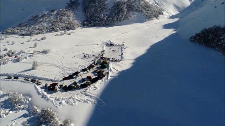 El escenario donde se desarrollará hoy el certamen en Coyhaique.