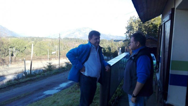 Pérez Catán recorre la Cordillera y pide un cambio de rumbo