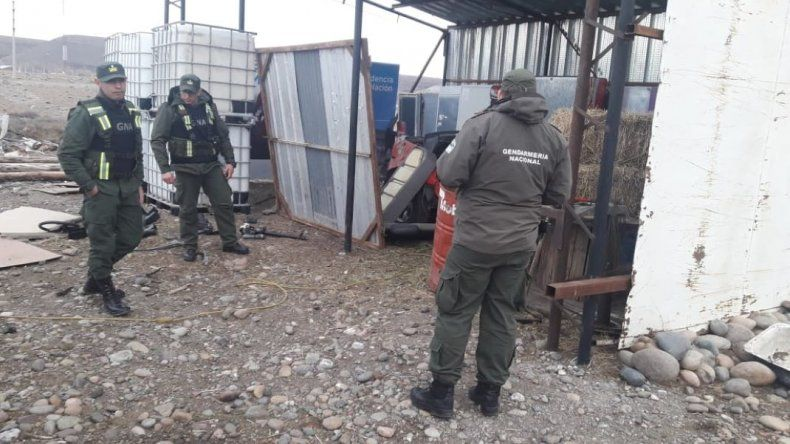 Robaron una camioneta en Facundo y la desguazaron en Río Mayo