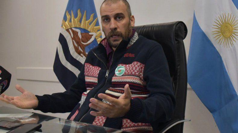 Facundo Prades volvió por algunos días ya que deberá retornar a Buenos Aires por tratamientos médicos complementarios.